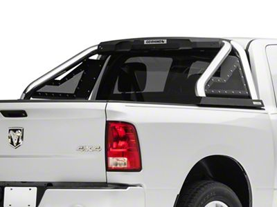 Go Rhino Sport Bar 2.0 Roll Bar w/ Power Actuated Retractable Light Mount - Polished (2019 RAM 1500)
