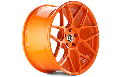 Race Orange HRE Flowform FF01 Wheels 2005-2009