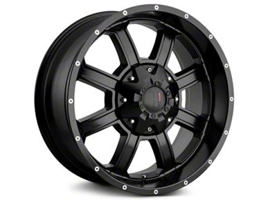 Havok Off-Road H101 Matte Black 6-Lug Wheel - 18x9 (99-18 Silverado 1500)