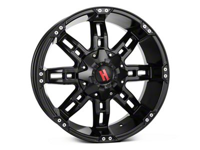 Havok Off-Road H103 Matte Black 6-Lug Wheel - 18x9 (99-18 Silverado 1500)