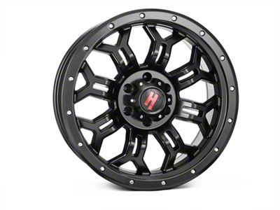 Havok Off-Road H108 Matte Black 6-Lug Wheel - 20x9 (99-18 Silverado 1500)