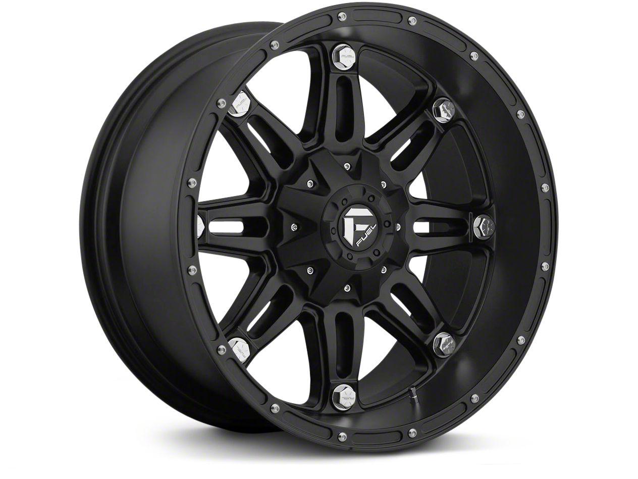 Fuel Wheels Hostage Matte Black 6-Lug Wheel - 17x8.5 (07-18 Silverado 1500)