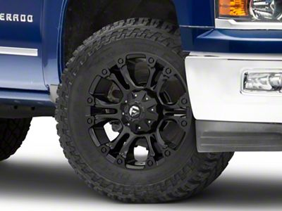 Fuel Wheels Vapor Matte Black 6-Lug Wheel - 20x9 (99-18 Silverado 1500)