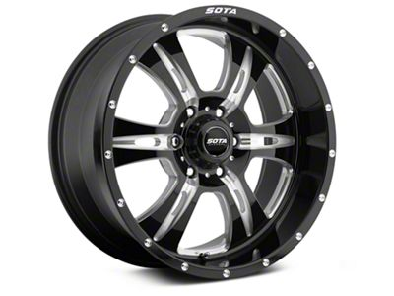 SOTA Off Road REHAB Death Metal 6-Lug Wheel - 20x9 (99-18 Silverado 1500)