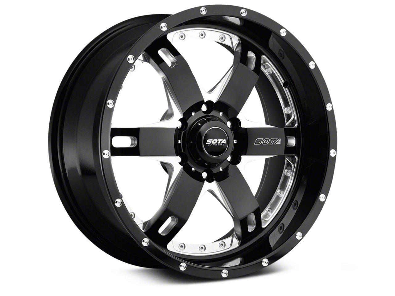 SOTA Off Road REPR Death Metal 6-Lug Wheel - 20x9 (99-18 Silverado 1500)