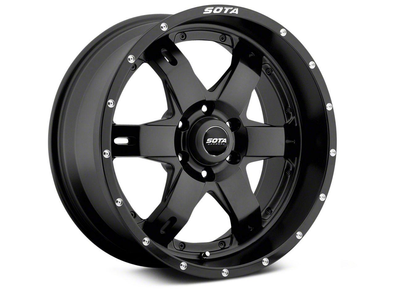 SOTA Off Road R.E.P.R. Stealth Black 6-Lug Wheel - 20x9 (99-19 Silverado 1500)