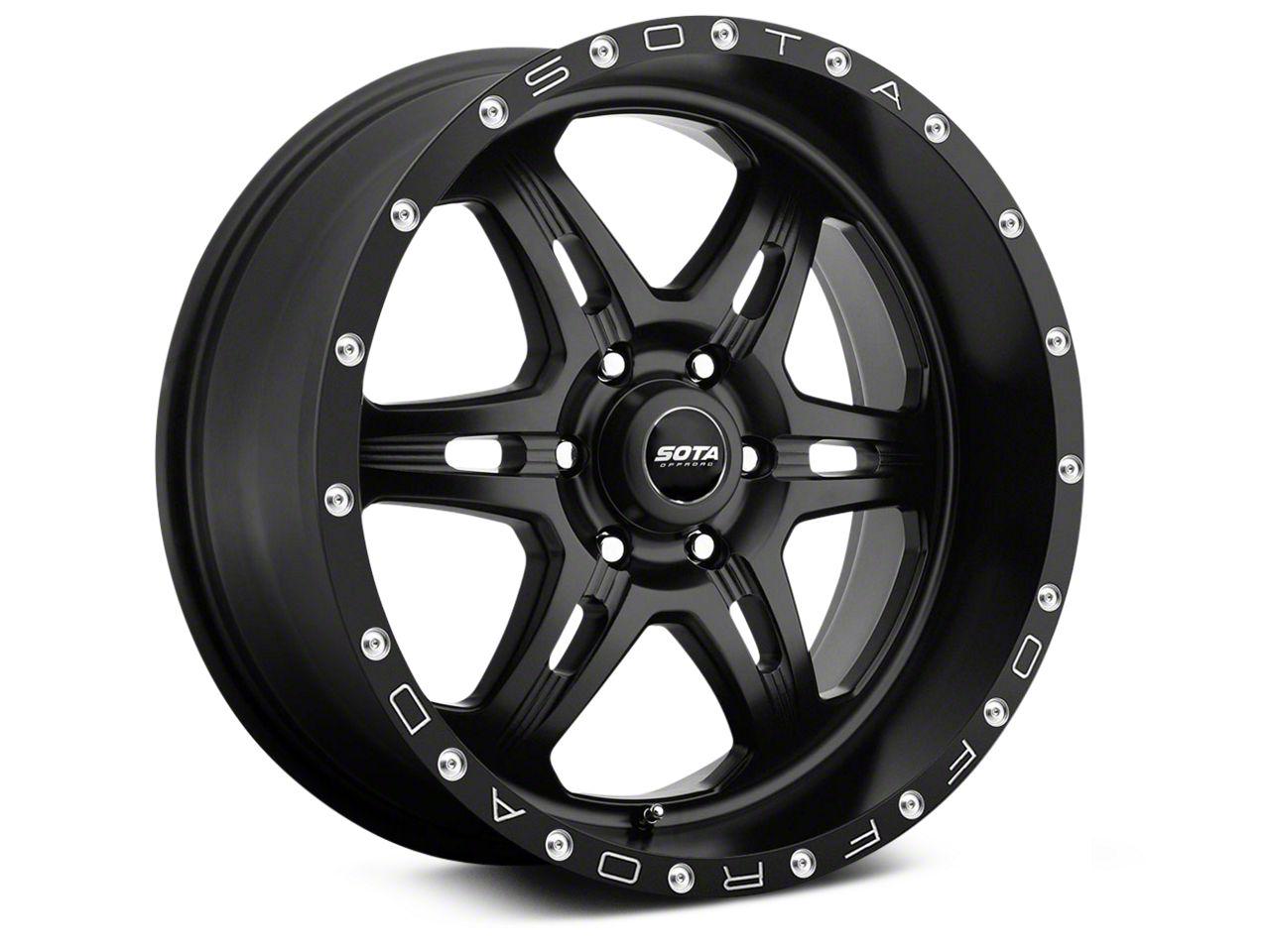 SOTA Off Road FITE Stealth Black 6-Lug Wheel - 20x9 (99-18 Silverado 1500)