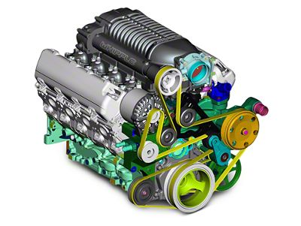 Whipple W175FF 2.9L Intercooled Supercharger Kit (14-18 5.3L Silverado 1500)