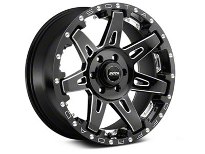 SOTA Off Road B.A.T.L. Death Metal 6-Lug Wheel - 20x10 (99-18 Silverado 1500)