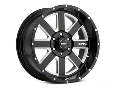 SOTA Off Road A.W.O.L. Death Metal 6-Lug Wheel - 20x10 (99-18 Silverado 1500)