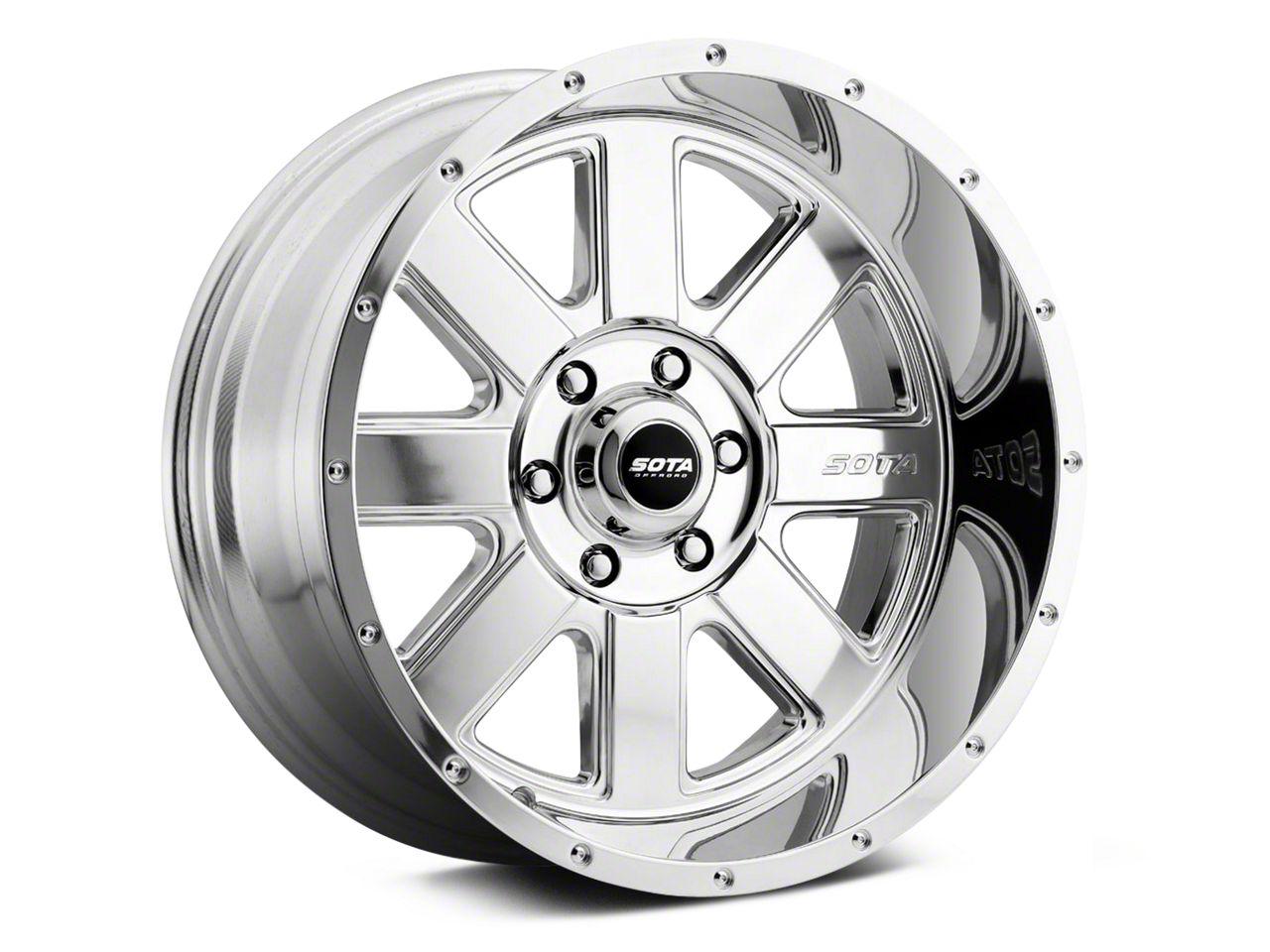 SOTA Off Road A.W.O.L. Polished 6-Lug Wheel - 20x9 (99-19 Silverado 1500)