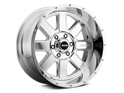 SOTA Off Road A.W.O.L. Polished 6-Lug Wheel - 20x10.5 (99-19 Silverado 1500)