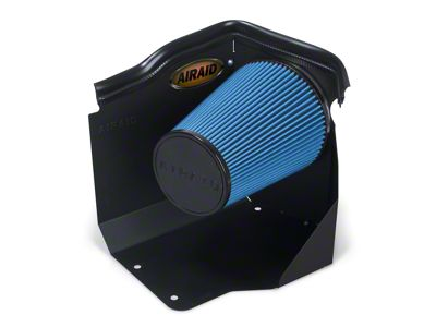 Airaid QuickFit Air Dam w/ Blue SynthaMax Dry Filter (99-06 4.3L, 4.8L, 5.3L Silverado 1500 w/ Low Profile Hood)
