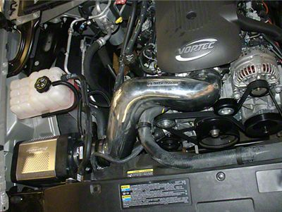 Injen Power-Flow Cold Air Intake w/ Power-Flow Box - Wrinkle Black (99-06 4.8L, 5.3L Silverado 1500)