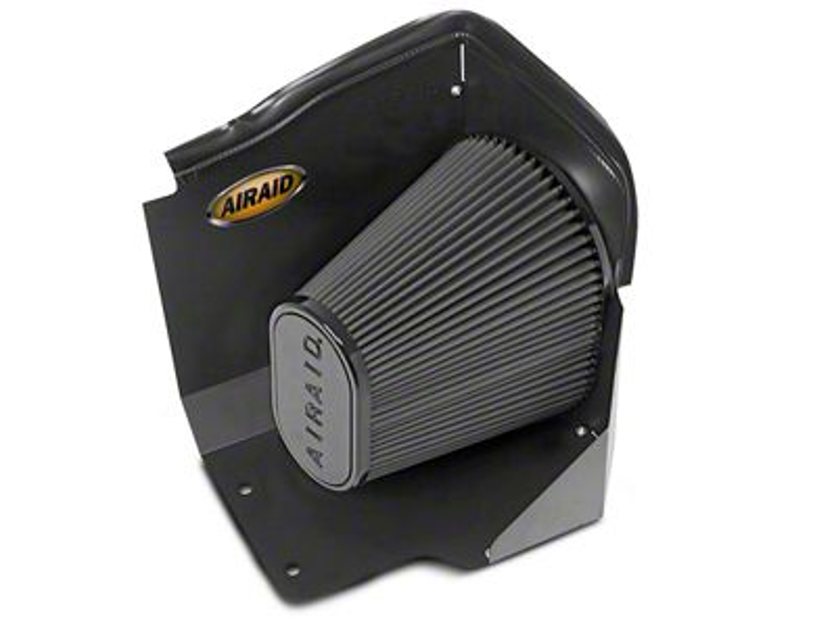 Airaid QuickFit Air Dam w/ Black SynthaMax Dry Filter (2009 6.0L Silverado 1500, Excluding Hybrid)