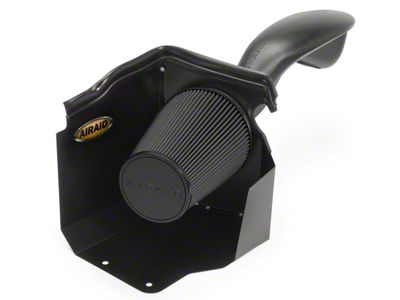 Airaid Cold Air Dam Intake w/ Black SynthaMax Dry Filter (03-06 6.0L Silverado 1500 SS w/ Mechanical Cooling Fan & Low Profile Hood)