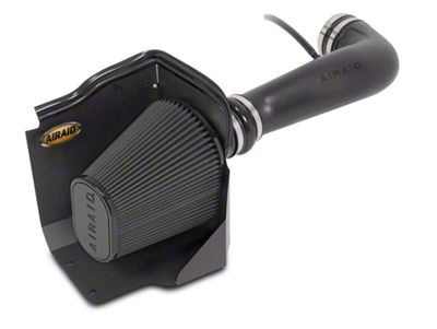 Airaid Cold Air Dam Intake w/ Black SynthaMax Dry Filter (2009 6.0L Silverado 1500 w/ Electric Cooling Fan, Excluding Hybrid)