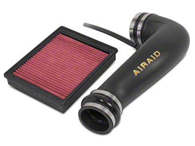 Airaid Jr. Intake Tube Kit w/ Red SynthaMax Dry Filter (07-13 4.8L Silverado 1500 w/ Electric Cooling Fan)