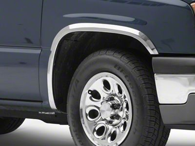 Stainless Steel Fender Trim - Polished (99-06 Silverado 1500 Fleetside)
