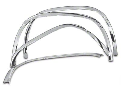 Stainless Steel Fender Trim - Chrome (99-06 Silverado 1500 Fleetside)