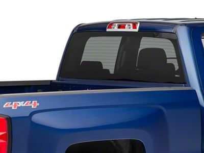 Chrome Third Brake Light Cover (14-18 Silverado 1500)