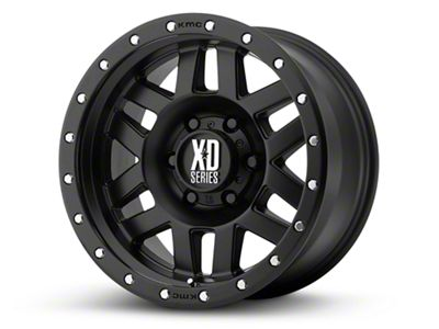 XD Machete Satin Black 6-Lug Wheel - 20x10 (99-19 Silverado 1500)