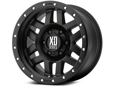 XD Machete Satin Black 6-Lug Wheel - 17x9 (99-19 Silverado 1500)