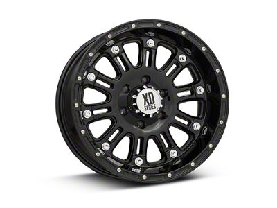 XD Hoss Gloss Black 6-Lug Wheel - 18x9 (99-18 Silverado 1500)