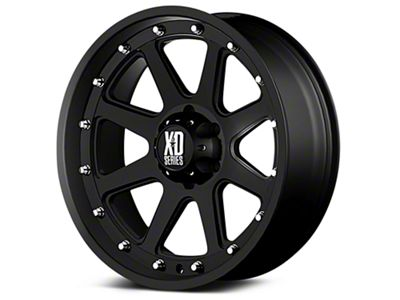 XD Addict Matte Black 6-Lug Wheel - 20x9 (99-18 Silverado 1500)
