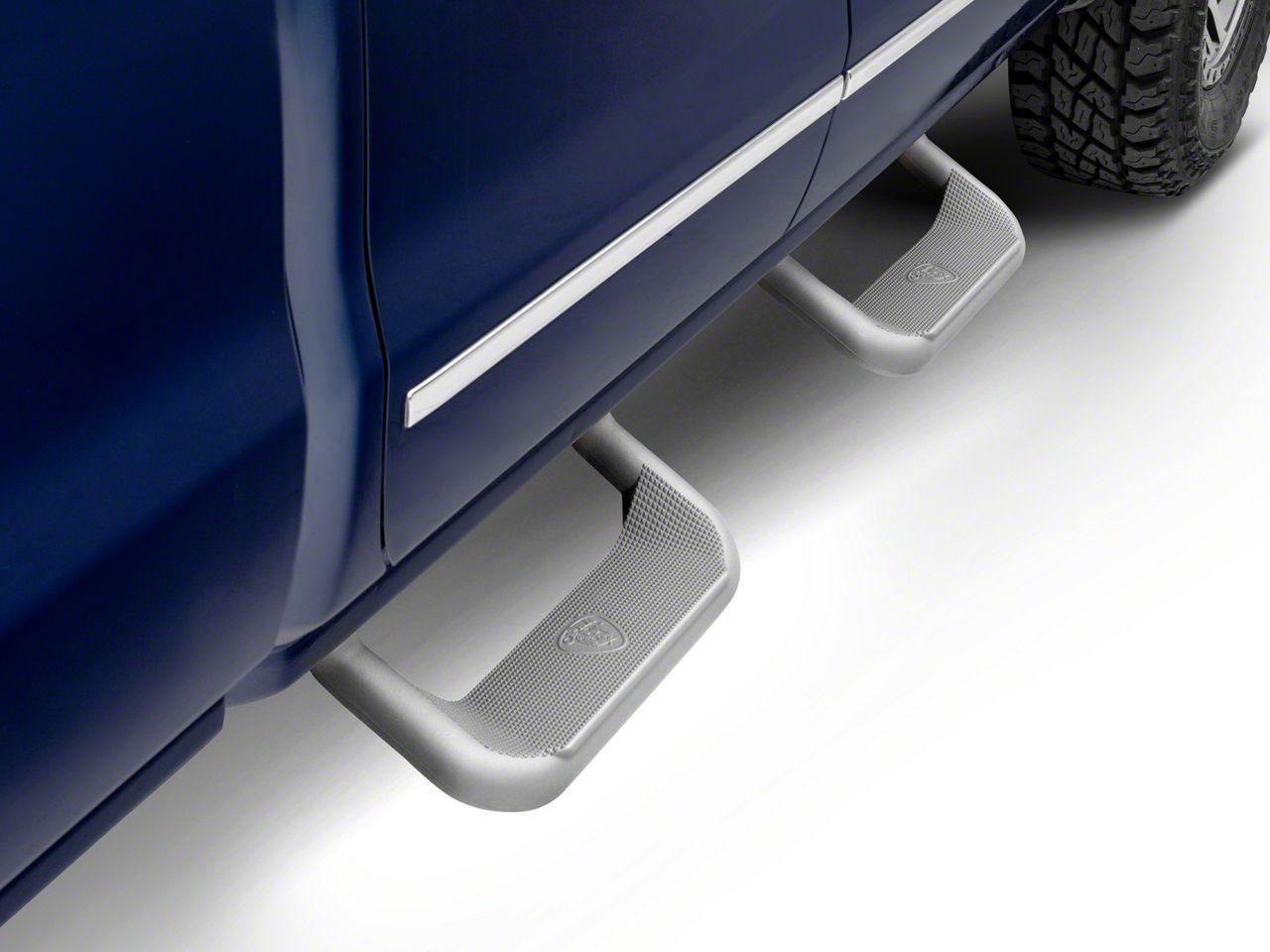 Carr Super Hoop Steps - Titanium Silver (99-18 Silverado 1500)