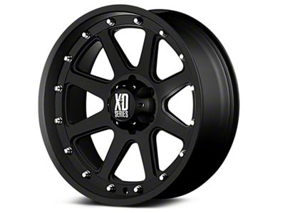 XD Addict Matte Black 6-Lug Wheel - 18x9 (99-18 Silverado 1500)