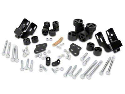Rough Country 1.25 in. Body Lift Kit (07-13 2WD/4WD Silverado 1500)