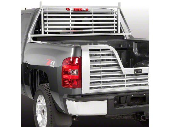Husky Aluminum Contractor Rack - Silver (07-18 Silverado 1500)