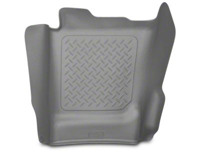 Husky WeatherBeater Center Hump Floor Liner - Gray (14-18 Silverado 1500 Double Cab, Crew Cab)