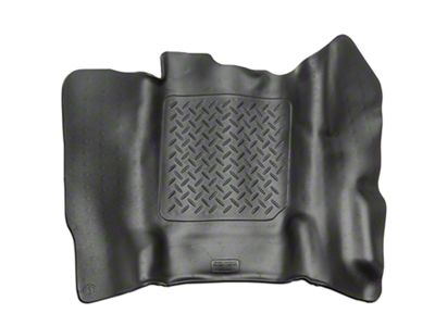 Husky X-Act Contour Center Hump Floor Liner - Black (14-18 Silverado 1500 Double Cab, Crew Cab)