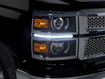 LED Dayliner G2 Kit - Black (14-15 Silverado 1500)
