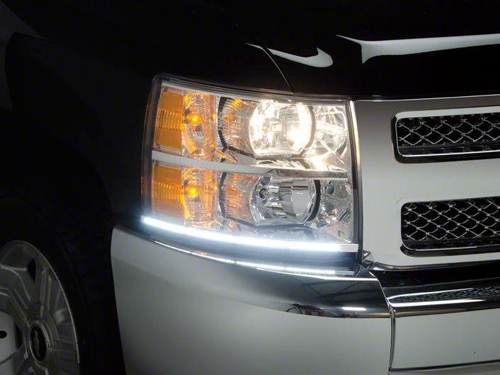 Putco LED Dayliner G3 Kit - Polished (07-13 Silverado 1500)