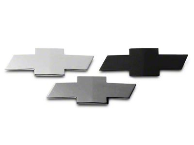 Grille & Tailgate Emblems - Chrome (07-13 Silverado 1500)