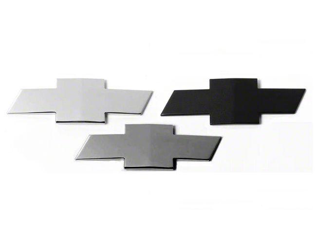 Grille & Tailgate Emblems - Black (07-13 Silverado 1500)