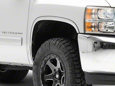 Stainless Steel Fender Trim (07-13 Silverado 1500)
