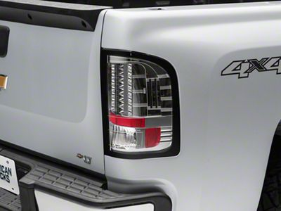 Axial Chrome LED Tail lights (07-13 Silverado 1500)