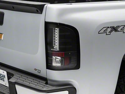 Axial Gen 2 Black LED Tail Lights (07-13 Silverado 1500)