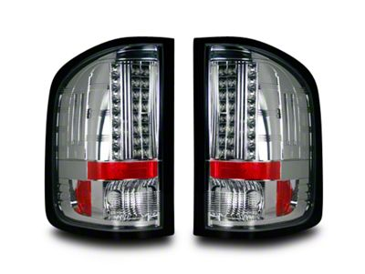 LED Tail Lights - Clear Lens (07-13 Silverado 1500)