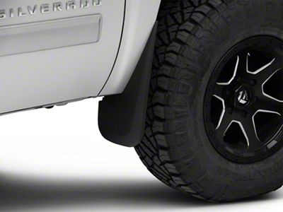 Husky Custom Molded Front Mud Guards (07-13 Silverado 1500)