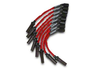 GMS High Performance Ignition Wires - High Temp Red (07-13 4.8L, 5.3L, 6.0L Silverado 1500)