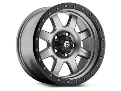 Fuel Wheels Trophy Anthracite w/ Black Ring 6-Lug Wheel - 17x8.5 (99-18 Silverado 1500)