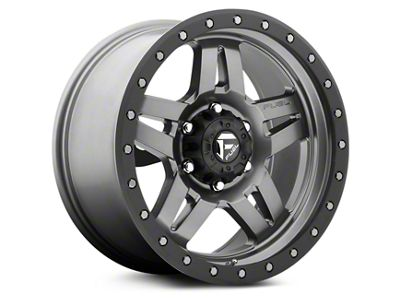 Fuel Wheels Anza Anthracite w/ Black Ring 6-Lug Wheel - 18x9 (99-19 Silverado 1500)