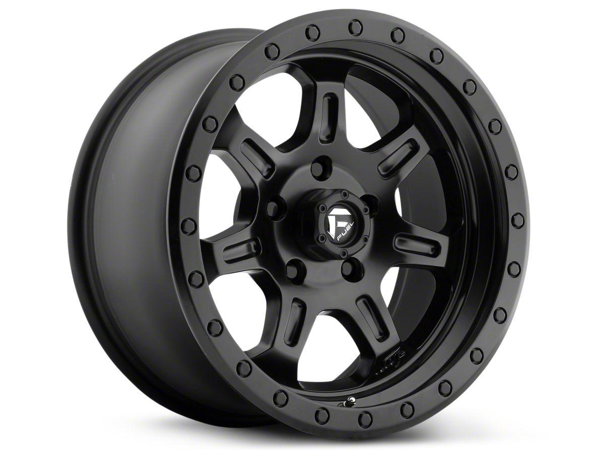 Fuel Wheels JM2 Matte Black 6-Lug Wheel - 17x8.5 (99-18 Silverado 1500)