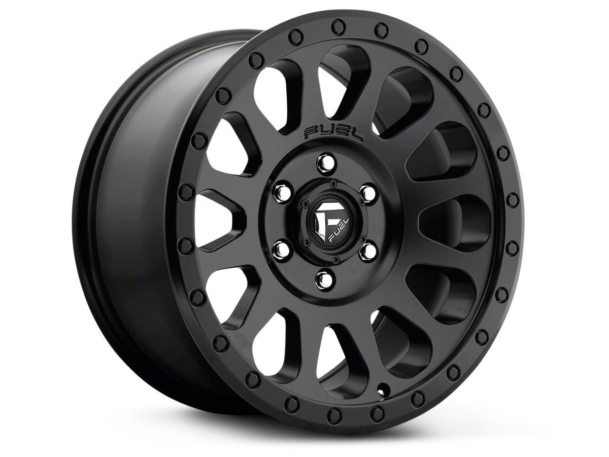 Fuel Wheels Vector Matte Black 6-Lug Wheel - 18x9 (99-18 Silverado 1500)
