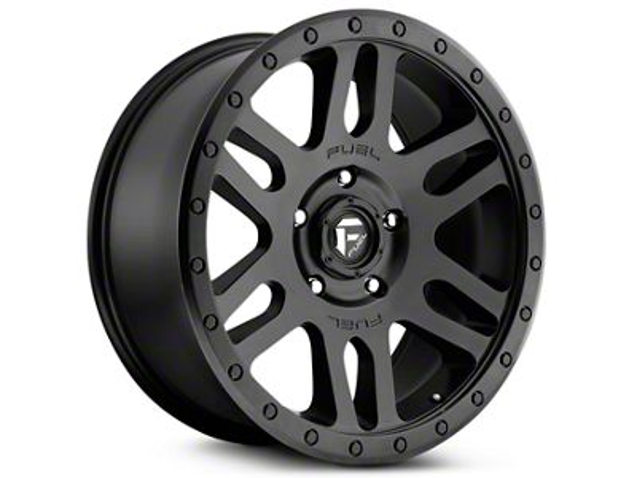 Fuel Wheels Recoil Matte Black 6-Lug Wheel - 20x9 (99-18 Silverado 1500)